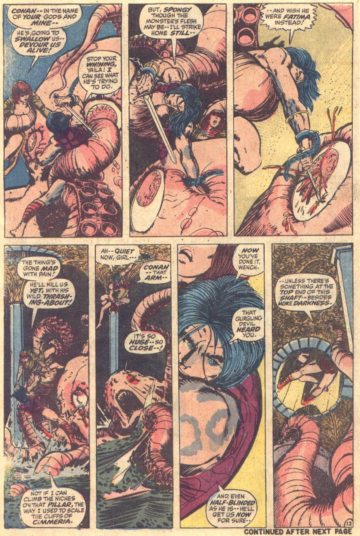 Conan the Barbarian (1970) Issue #12 #24 - English 13