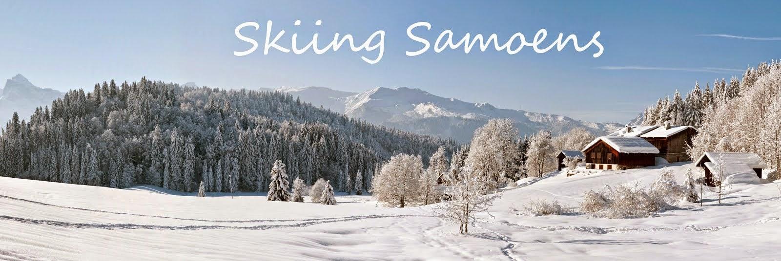 Skiing Samoens