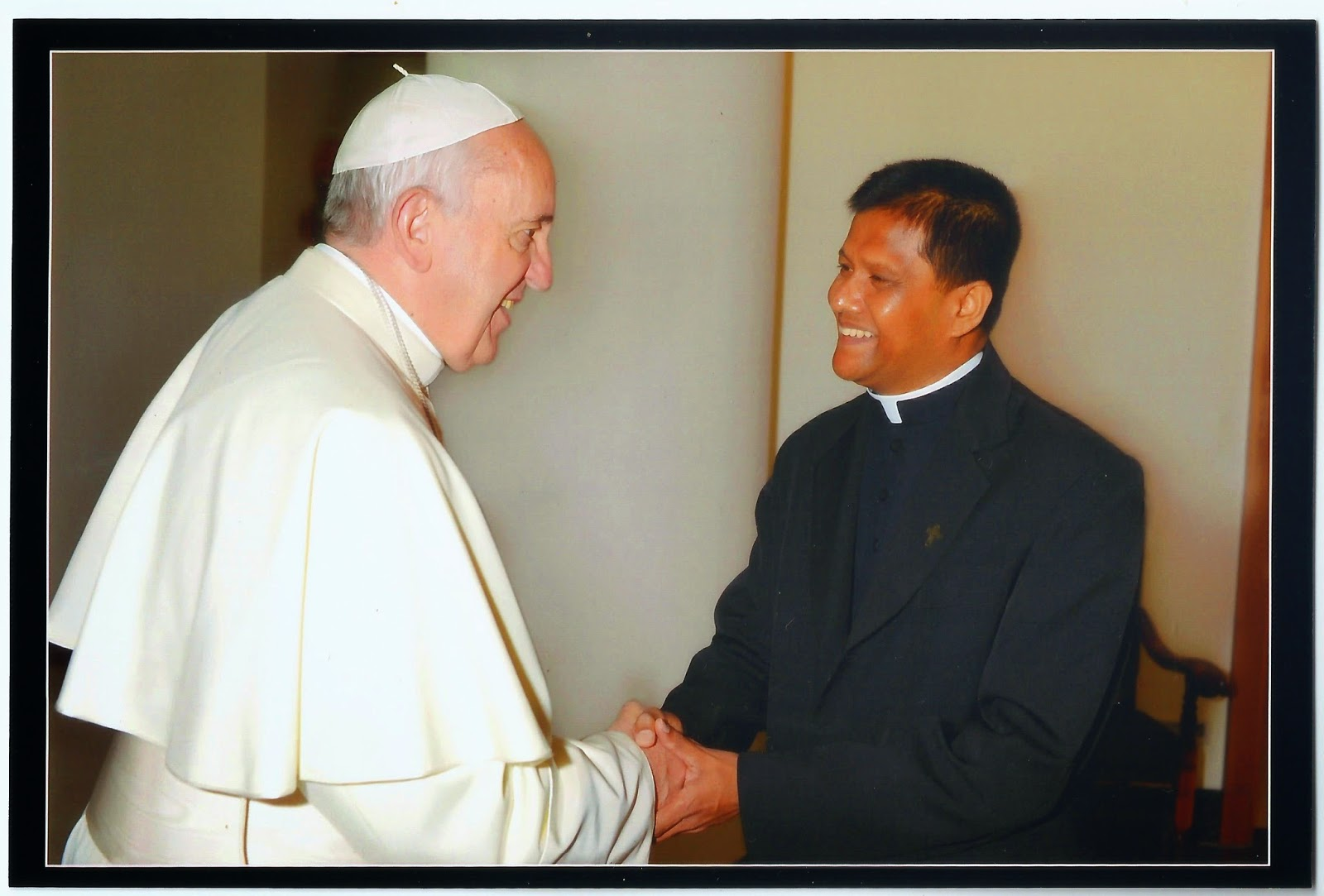 Prayerful Greetings From His Holiness To All The Seminarians And Sri