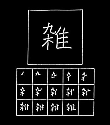 kanji campuran