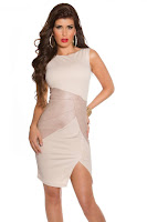 rochie-office-Sensitive Beige