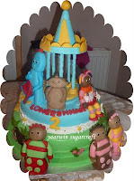 In The Night garden Chocolate cake