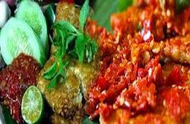 Resep praktis (mudah) membuat makanan khas lamongan tempe penyet pedas enak