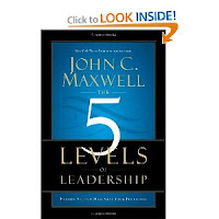 book cover of the 5 levels of leadership