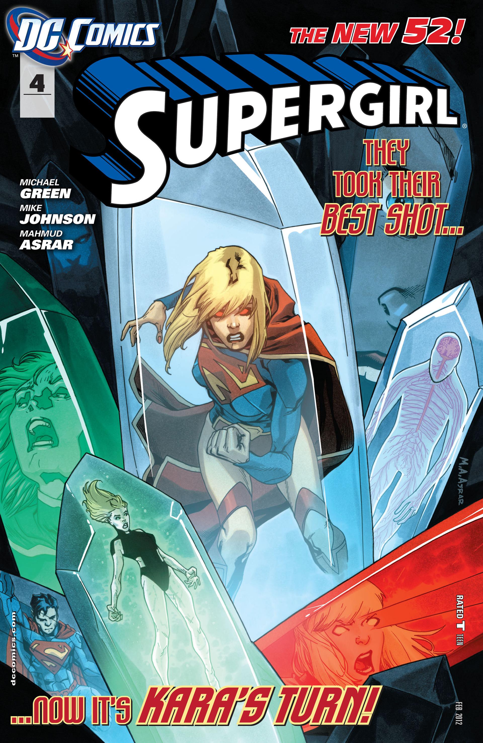 Supergirl (2011) Issue #4 #6 - English 1