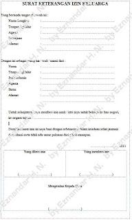 Contoh Surat Izin Orang Tua untuk Kerja ke Luar Negeri