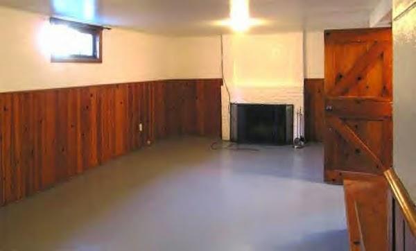 A basement den ~