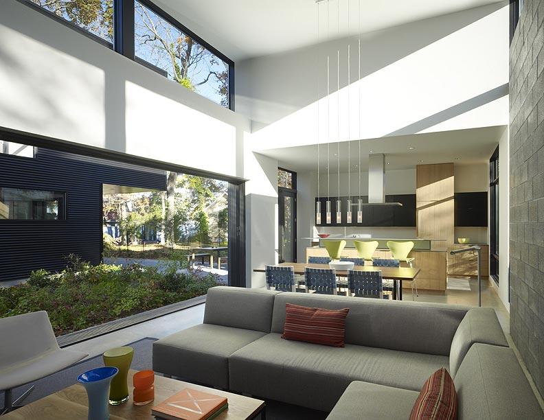 Interiores minimalistas resumen semanal dise o de for Casa minimalista living