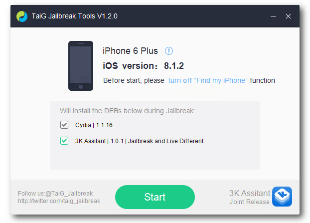 Jailbreak iOS 8.1.2 For Cydia