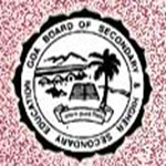 GOA Board SSCTime Table 2016
