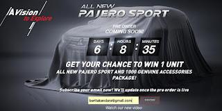 peluncuran all new pajero sport 2016