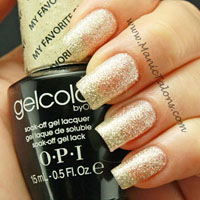 OPI GelColor Gel Polish My Favorite Ornament Swatch
