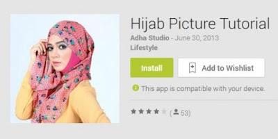 Download Aplikasi Panduan Cara Pakai Hijab