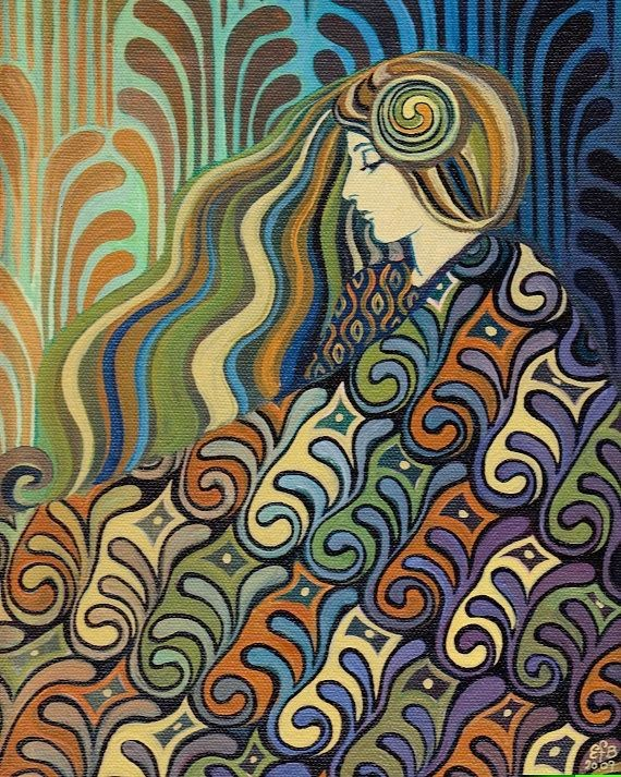 Dalia - Goddess of Fate by Emily Balivet.