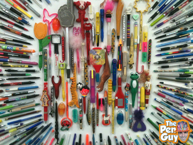 Recycle Pen Art by The Pen Guy - Time Warp