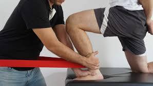 Fisioterapia numa entorse no Handebol