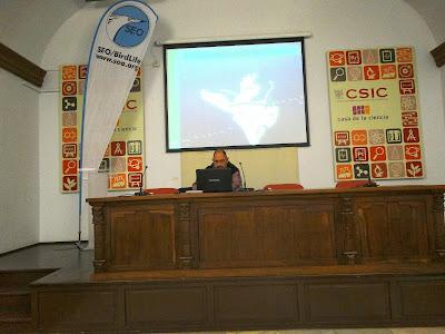 """Conferencia """"Funcionamiento y gestión de la marisma de Doñana"""", por Carlos Urdiales en el ciclo Martes Ornitológicos que el Grupo Local SEO-Sevilla de SEO/BirdLife organiza en el Museo Casa de la Ciencia de Sevilla"""