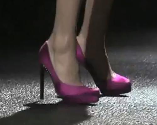 Magassarkú platform cipő - női cipő divat Lanvin 2012 ősz