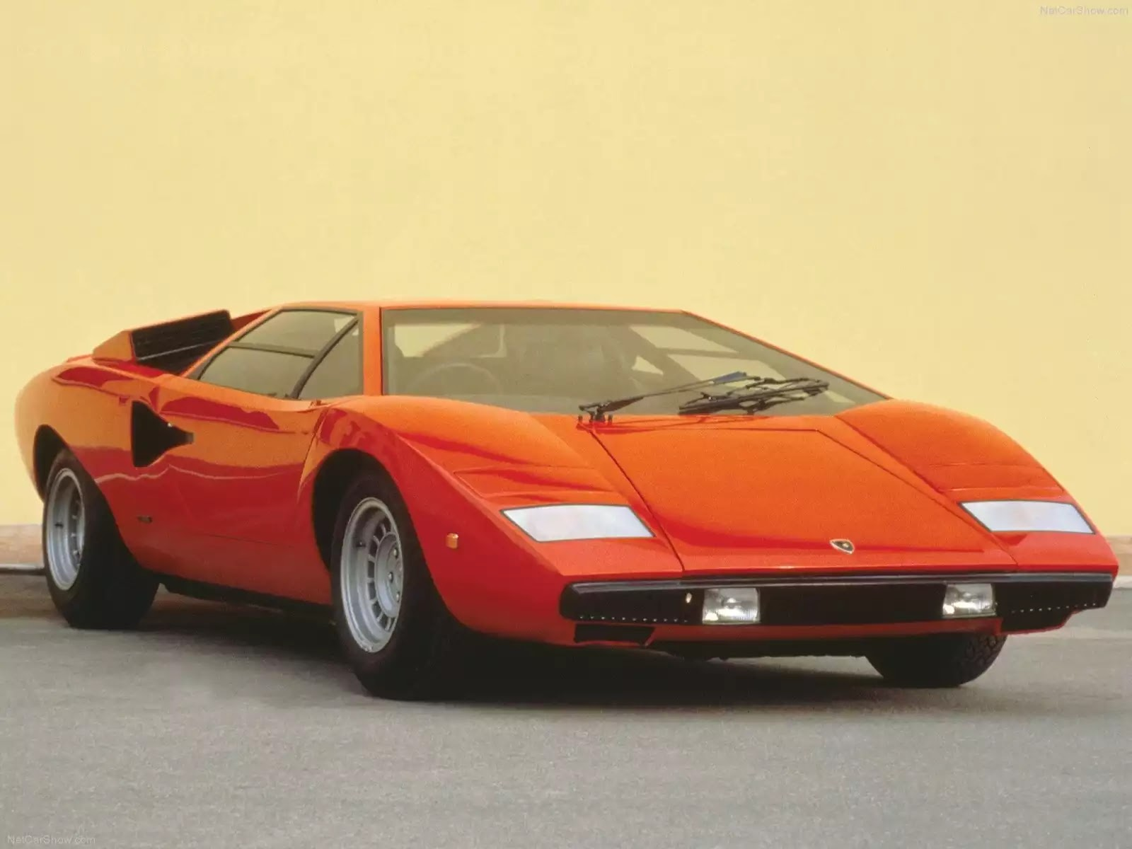 Hình ảnh siêu xe Lamborghini Countach LP 400 1973 & nội ngoại thất