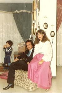 Loly Señaris Calviño, Felix y  mi hijo Alex