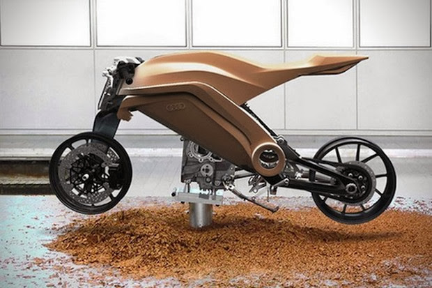 Audi Motorrad Motorcycle Concept | Audi Motorcycle | Audi concept | Audi Motorcycle Concept