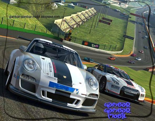 gambar mobil balapan