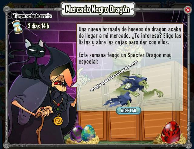 imagen del mercado negro con el specter dragon