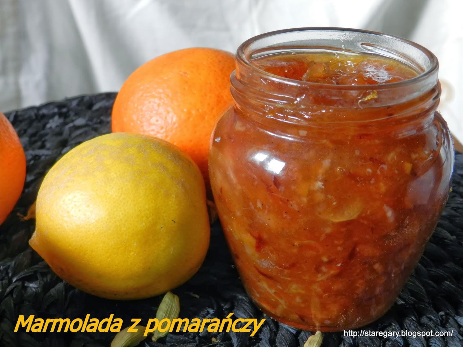 Marmolada z pomarańczy -  maszyna do chleba