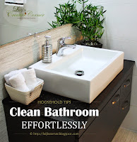 Clean Bathroom - Effortlessly in less than 10 minutes