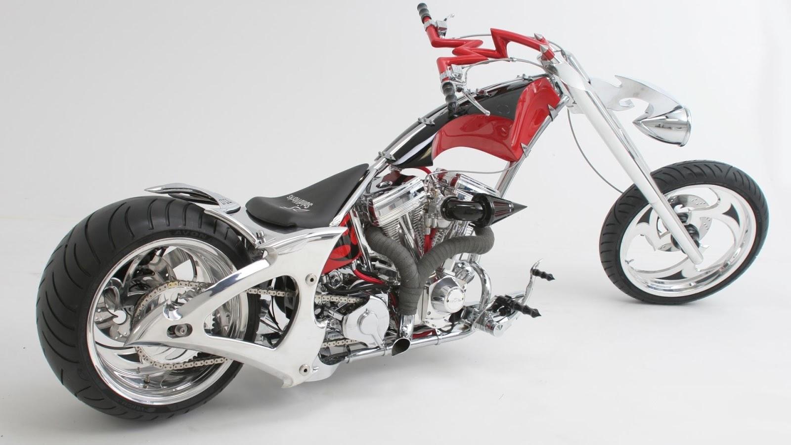 Your Wallpaper Chopper Bike