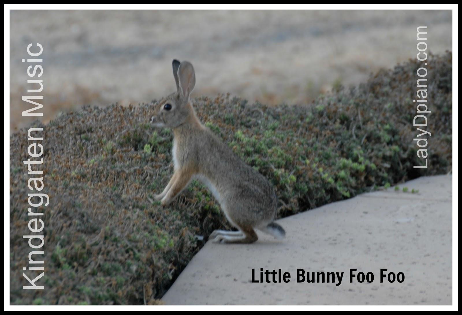 Kindergarten Music: Little Bunny Foo Foo