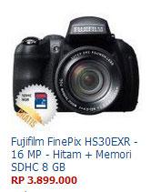 Harga Kamera Fujifilm FinePix HS30EXR