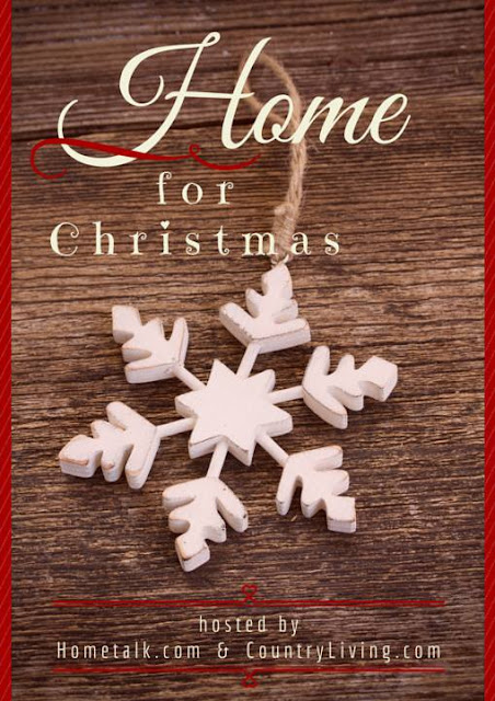Home for Christmas Blog Hop-Hometalk- Country Living- From My Front Porch To Yours