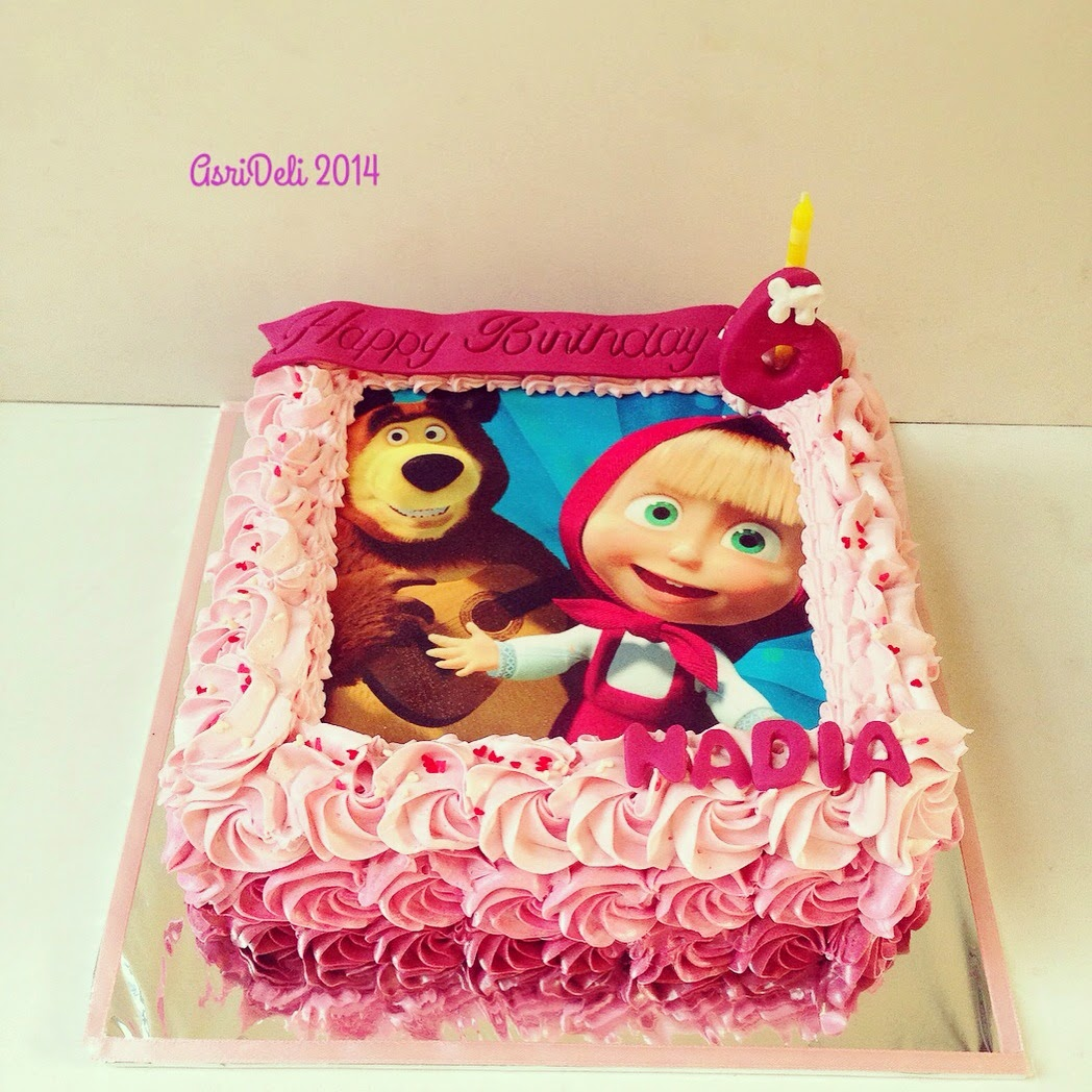 Asri Deli Blog Masha Amp The Bear Cake Nadia