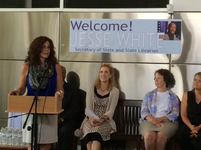 Illinois State Representative Sheri Jesiel: Jesiel Joins Secretary ...