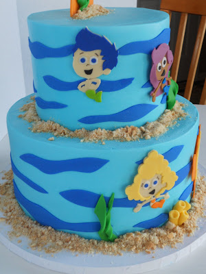Bubble Guppy Cake Images