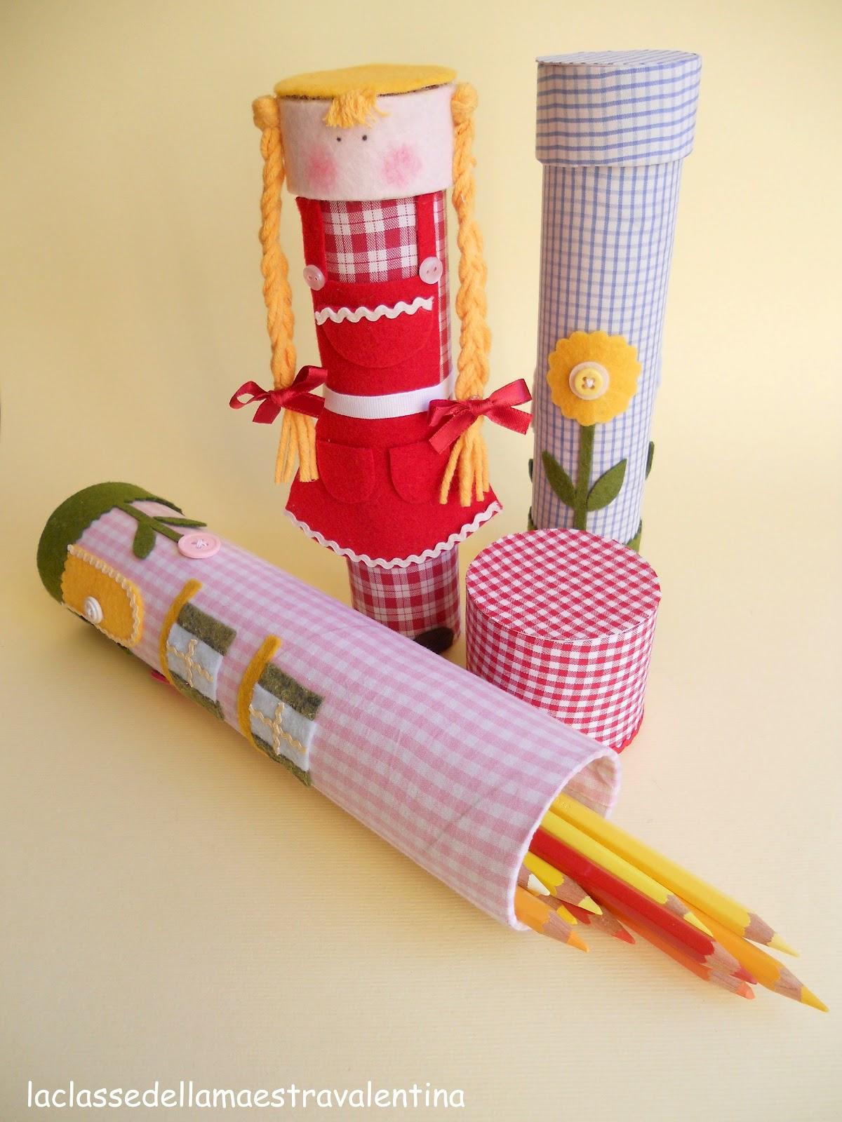 La classe della maestra valentina porta oggetti e riciclo - Porta scottex da parete ...