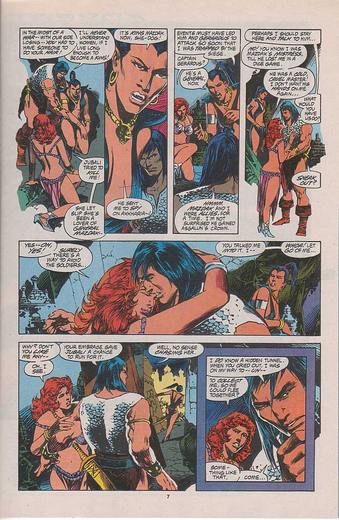 Conan the Barbarian (1970) Issue #262 #274 - English 6