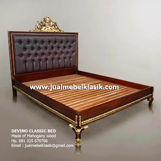Supplier Indonesia classic furniture supplier wooden classic bed mahogany supplier classic carved bed
