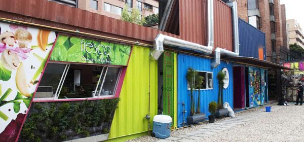 Casas contenedores restaurantes contenedores en bogot colombia - Casas en contenedores marinos ...
