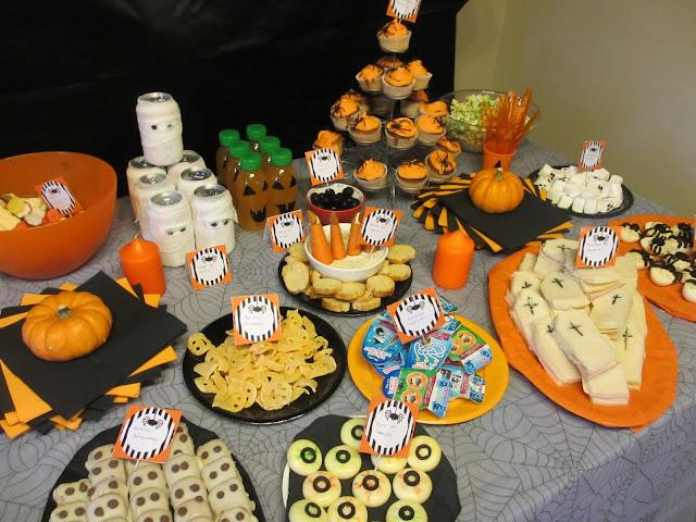 Halloween recetas de miedo i elenarte - Fiesta halloween en casa ...