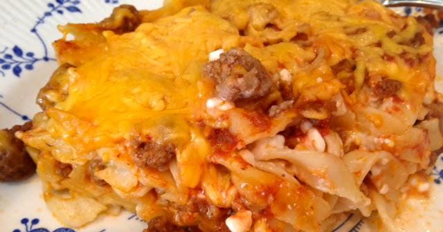 Rita S Recipes Cheesy Beef Noodle Bake