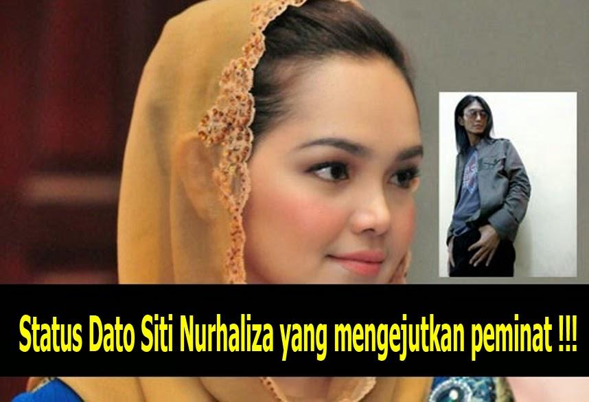 Status Dato Siti Nurhaliza yang mengejutkan peminat