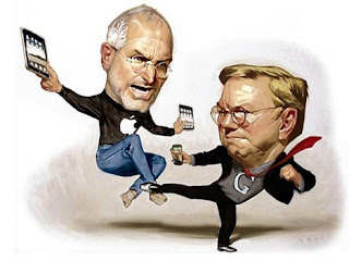 Steve Jobs Fighting With Eric Schmidt