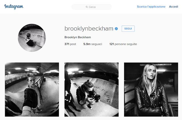 Le foto di Brooklyn Beckham per Burberry