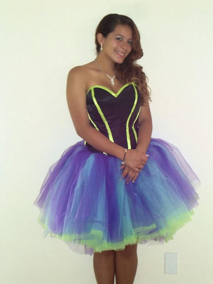 costume monster alice in wonderland inspired prom dress