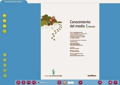 libro digital santillana-1º CONOCIMIENTO DEL MEDIO