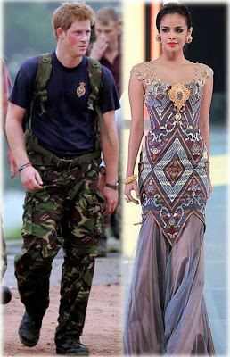 prince harry and miss world megan young