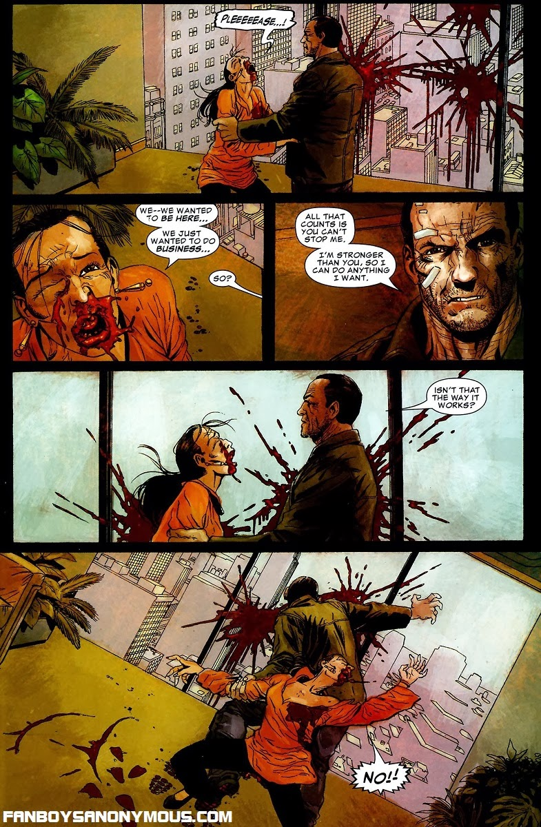 Garth Ennis's Punisher shuts down the slave trade in The Slavers
