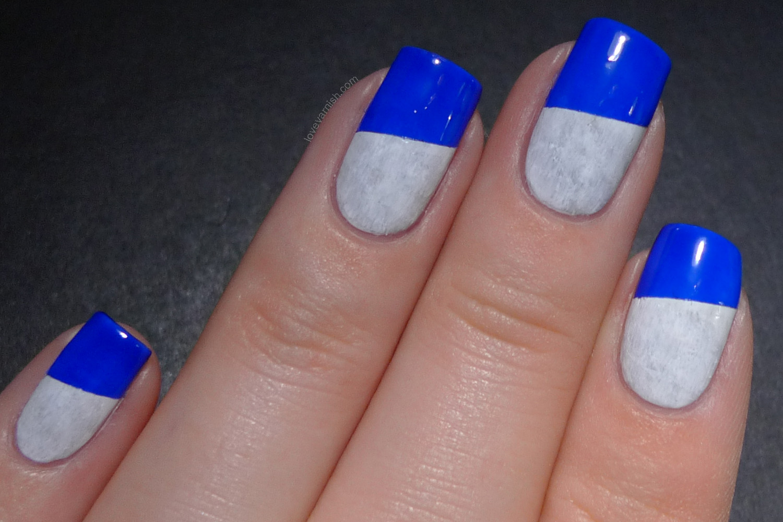 Deling Ultramarijn nail art
